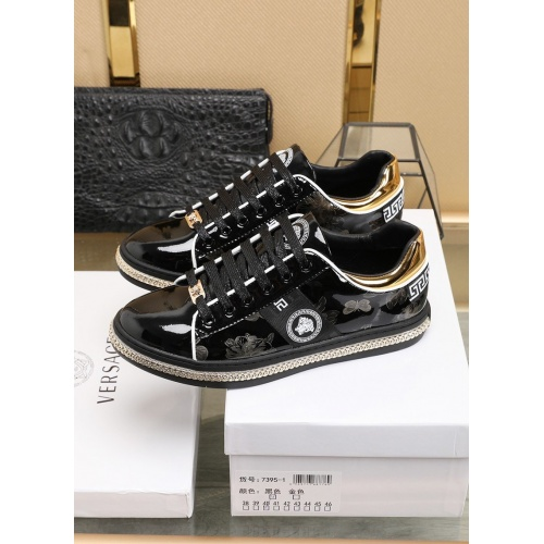 Replica Versace Fashion Shoes For Men #841377 $85.00 USD for Wholesale