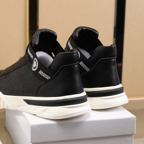 Replica Versace Fashion Shoes For Men #841378 $88.00 USD for Wholesale