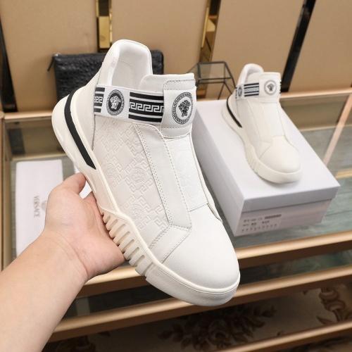 Replica Versace Fashion Shoes For Men #841379 $88.00 USD for Wholesale