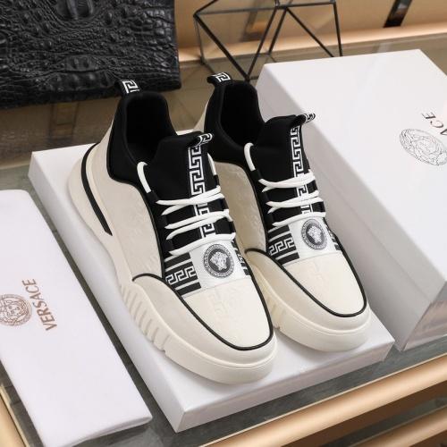 Versace Fashion Shoes For Men #841381 $88.00 USD, Wholesale Replica Versace Fashion Shoes