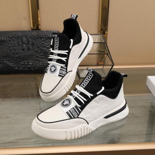 Replica Versace Fashion Shoes For Men #841381 $88.00 USD for Wholesale