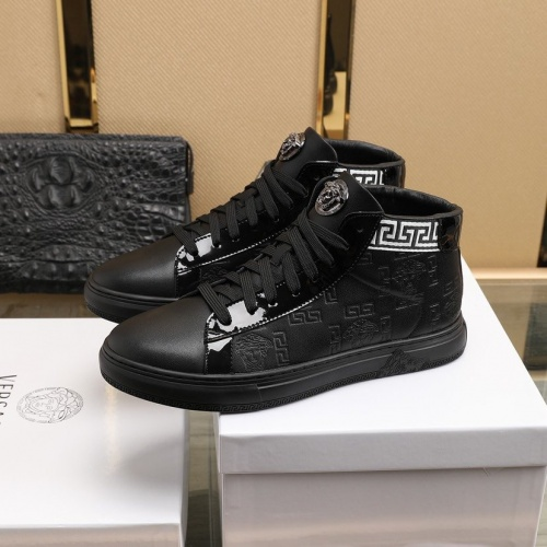 Replica Versace Fashion Shoes For Men #841384 $92.00 USD for Wholesale