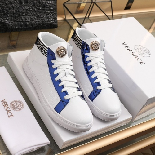 Versace Fashion Shoes For Men #841385 $92.00 USD, Wholesale Replica Versace Fashion Shoes