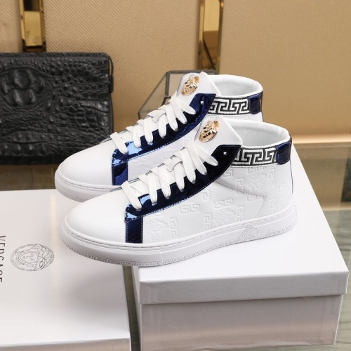 Replica Versace Fashion Shoes For Men #841385 $92.00 USD for Wholesale