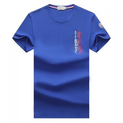 Moncler T-Shirts Short Sleeved For Men #841403
