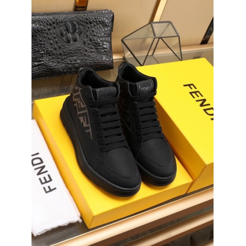 Fendi High Tops Casual Shoes For Men #841420