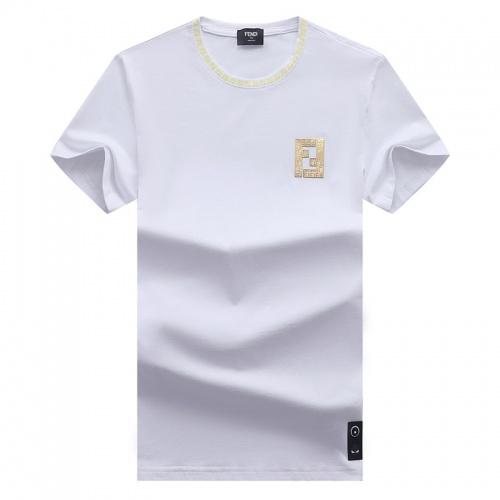Fendi T-Shirts Short Sleeved For Men #841422