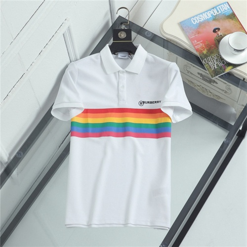 Burberry T-Shirts Short Sleeved For Men #841459 $36.00 USD, Wholesale Replica Burberry T-Shirts