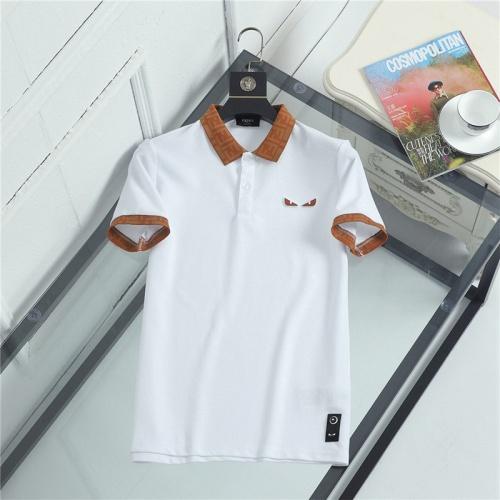 Fendi T-Shirts Short Sleeved For Men #841483