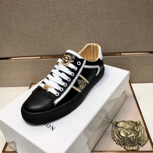 Replica Versace Casual Shoes For Men #841486 $76.00 USD for Wholesale