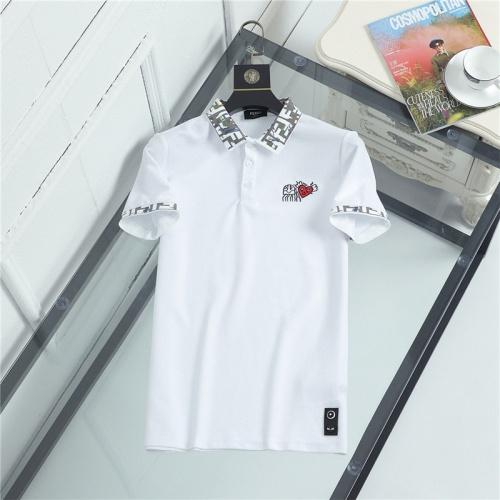 Fendi T-Shirts Short Sleeved For Men #841491
