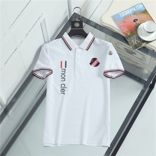 Moncler T-Shirts Short Sleeved For Men #841494