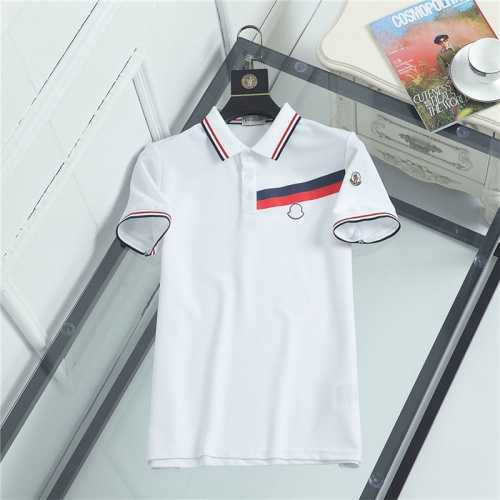 Moncler T-Shirts Short Sleeved For Men #841498