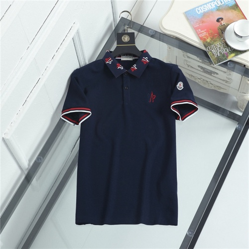 Moncler T-Shirts Short Sleeved For Men #841511
