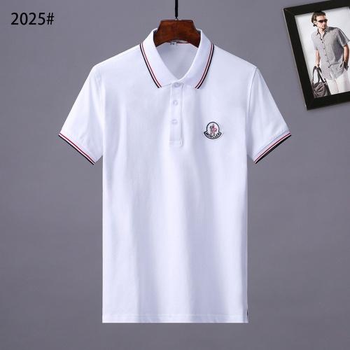 Moncler T-Shirts Short Sleeved For Men #841543