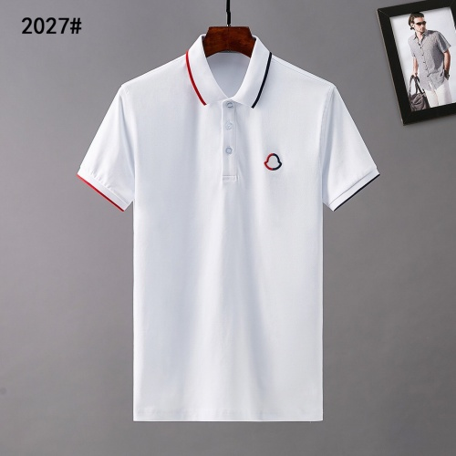 Moncler T-Shirts Short Sleeved For Men #841546