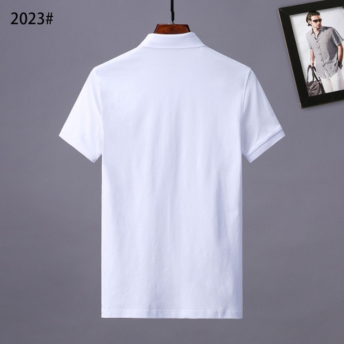 Replica Burberry T-Shirts Short Sleeved For Men #841557 $29.00 USD for Wholesale