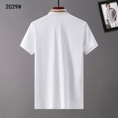 Replica Burberry T-Shirts Short Sleeved For Men #841559 $29.00 USD for Wholesale