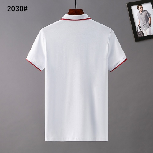 Replica Burberry T-Shirts Short Sleeved For Men #841562 $29.00 USD for Wholesale
