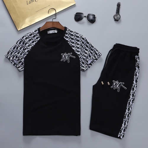 Christian Dior Tracksuits Short Sleeved For Men #841592