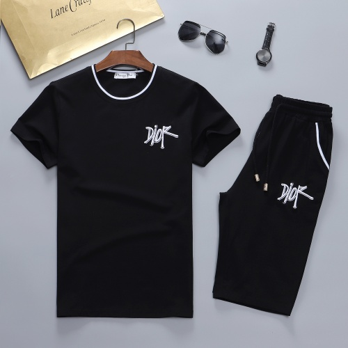 Christian Dior Tracksuits Short Sleeved For Men #841625