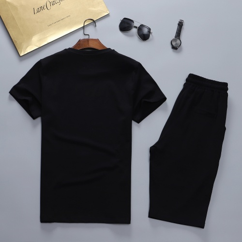 Replica Fendi Tracksuits Short Sleeved For Men #841635 $48.00 USD for Wholesale