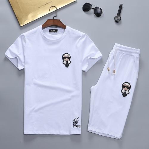 Fendi Tracksuits Short Sleeved For Men #841636