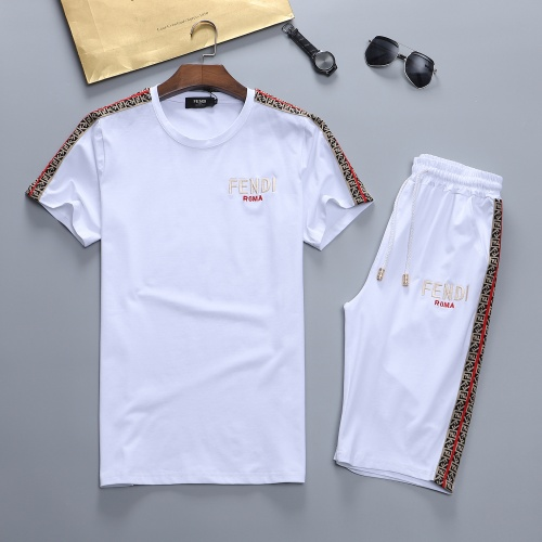 Fendi Tracksuits Short Sleeved For Men #841637