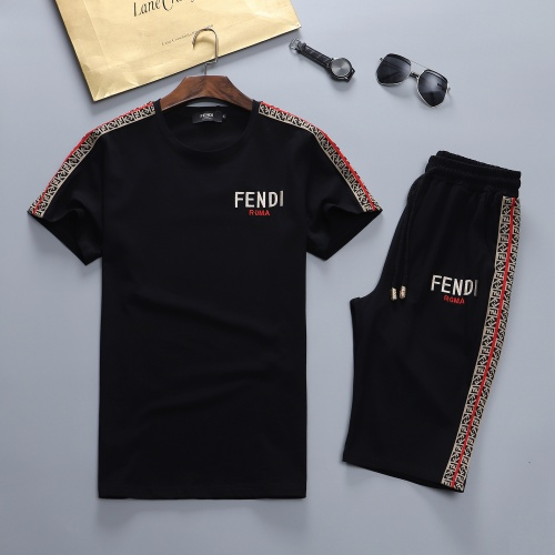 Fendi Tracksuits Short Sleeved For Men #841638