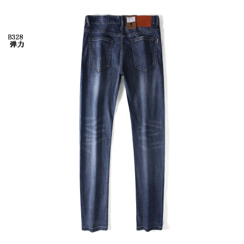 Replica Burberry Jeans For Men #841668 $41.00 USD for Wholesale