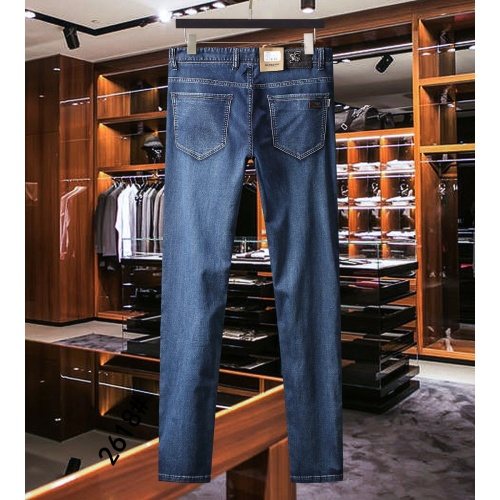 Replica Burberry Jeans For Men #841678 $40.00 USD for Wholesale