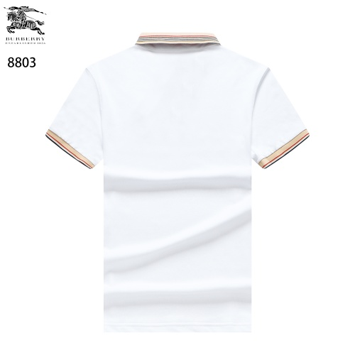 Replica Burberry T-Shirts Short Sleeved For Men #841726 $32.00 USD for Wholesale