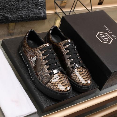 Philipp Plein PP Leather Shoes For Men #841858