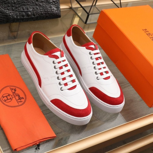 Hermes Casual Shoes For Men #841906 $85.00 USD, Wholesale Replica Hermes Casual Shoes