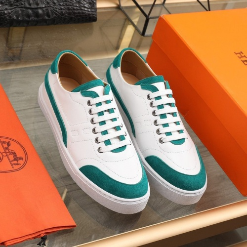 Hermes Casual Shoes For Men #841907 $85.00 USD, Wholesale Replica Hermes Casual Shoes