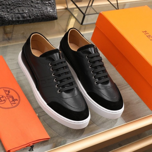 Hermes Casual Shoes For Men #841908 $85.00 USD, Wholesale Replica Hermes Casual Shoes