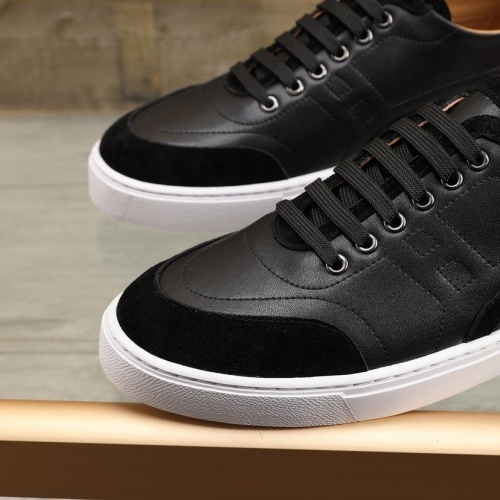Replica Hermes Casual Shoes For Men #841908 $85.00 USD for Wholesale