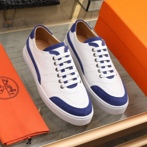 Hermes Casual Shoes For Men #841909 $85.00 USD, Wholesale Replica Hermes Casual Shoes