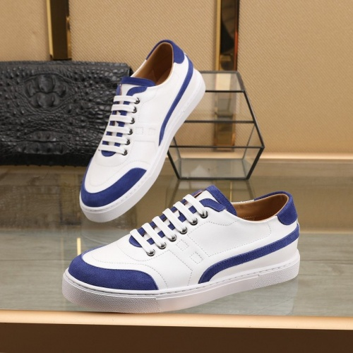 Replica Hermes Casual Shoes For Men #841909 $85.00 USD for Wholesale