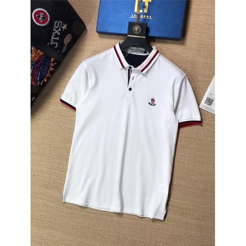Moncler T-Shirts Short Sleeved For Men #842035