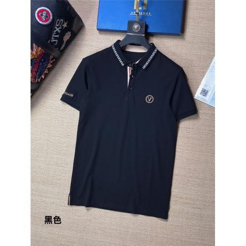 Versace T-Shirts Short Sleeved For Men #842039