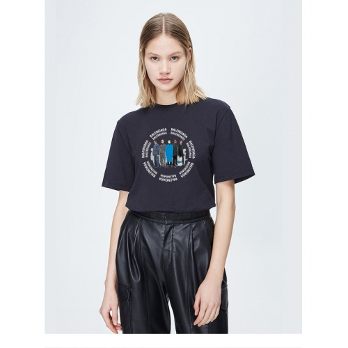 Balenciaga T-Shirts Short Sleeved For Women #842096