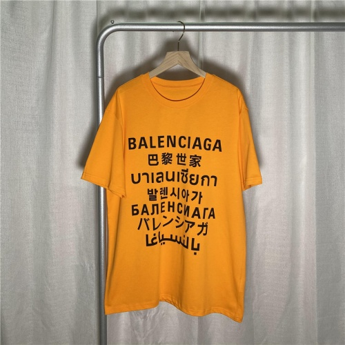 Balenciaga T-Shirts Short Sleeved For Men #842129