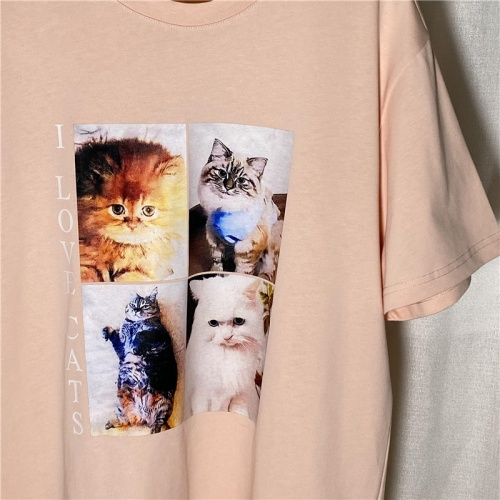 Replica Balenciaga T-Shirts Short Sleeved For Women #842147 $29.00 USD for Wholesale