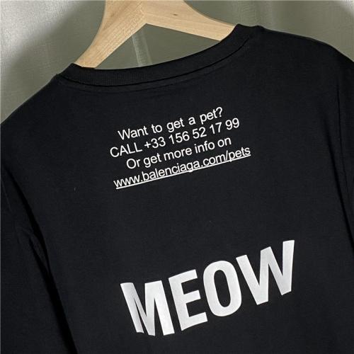 Replica Balenciaga T-Shirts Short Sleeved For Men #842150 $29.00 USD for Wholesale