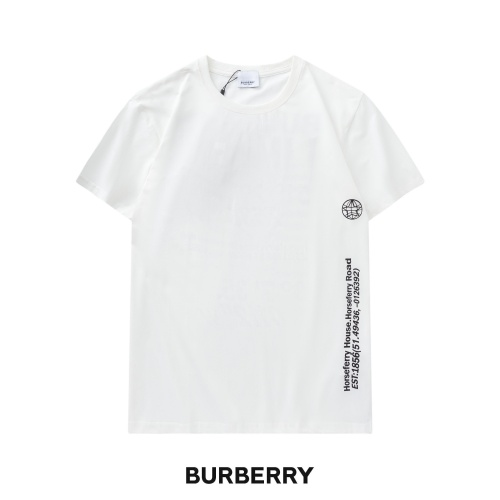 Burberry T-Shirts Short Sleeved For Unisex #842214