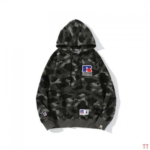Replica Bape Hoodies Long Sleeved For Men #842255 $48.00 USD for Wholesale
