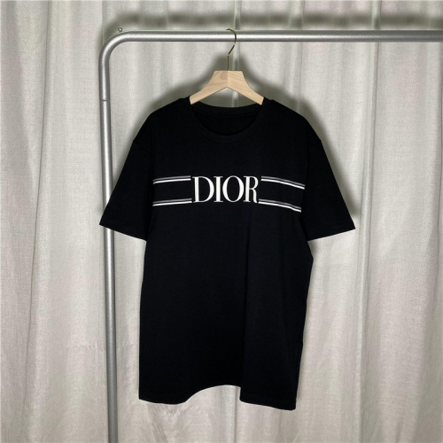 Christian Dior T-Shirts Short Sleeved For Unisex #842256
