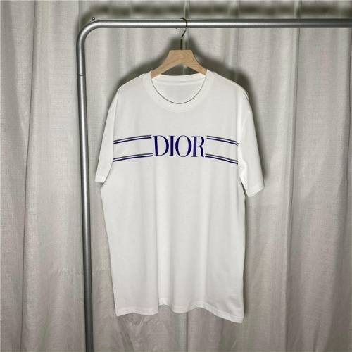 Christian Dior T-Shirts Short Sleeved For Unisex #842257