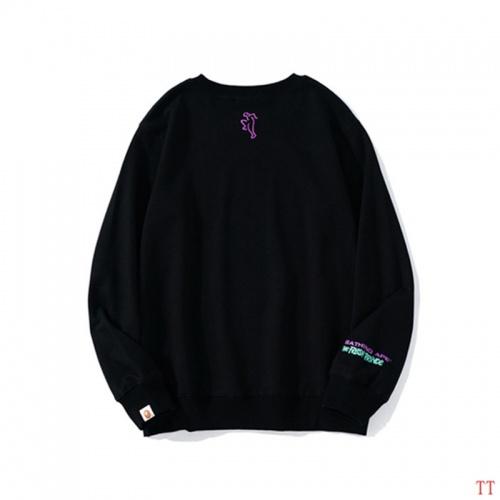 Replica Bape Hoodies Long Sleeved For Men #842264 $39.00 USD for Wholesale